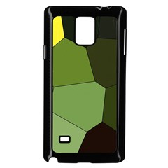 Mosaic Structure Background Tile Samsung Galaxy Note 4 Case (black)