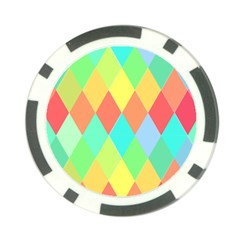 Low Poly Triangles Poker Chip Card Guard