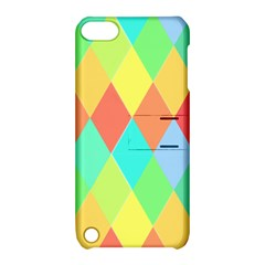 Low Poly Triangles Apple Ipod Touch 5 Hardshell Case With Stand
