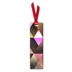 Abstract Geometric Triangles Shapes Small Book Marks