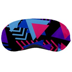 Memphis Pattern Geometric Abstract Sleeping Masks
