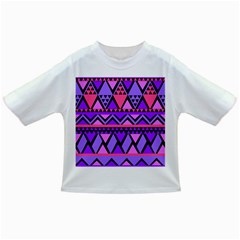 Seamless Purple Pink Pattern Infant/Toddler T-Shirts