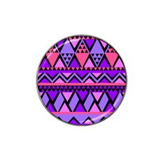 Seamless Purple Pink Pattern Hat Clip Ball Marker (4 pack)