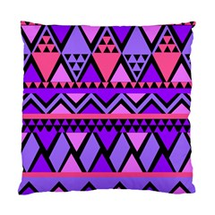 Seamless Purple Pink Pattern Standard Cushion Case (Two Sides)