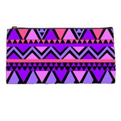 Seamless Purple Pink Pattern Pencil Cases