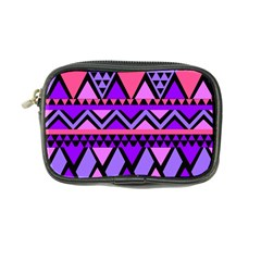 Seamless Purple Pink Pattern Coin Purse