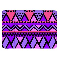 Seamless Purple Pink Pattern Samsung Galaxy Tab 8 9  P7300 Flip Case by Pakrebo