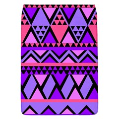 Seamless Purple Pink Pattern Removable Flap Cover (L)