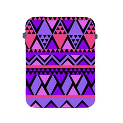 Seamless Purple Pink Pattern Apple iPad 2/3/4 Protective Soft Cases