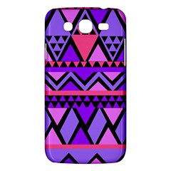 Seamless Purple Pink Pattern Samsung Galaxy Mega 5 8 I9152 Hardshell Case