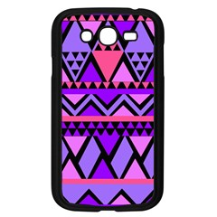 Seamless Purple Pink Pattern Samsung Galaxy Grand DUOS I9082 Case (Black)