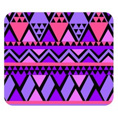 Seamless Purple Pink Pattern Double Sided Flano Blanket (Small)
