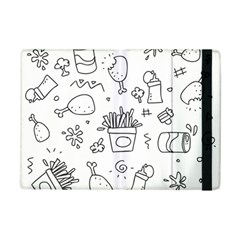 Set Chalk Out Scribble Collection Ipad Mini 2 Flip Cases