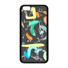 Repetition Seamless Child Sketch Apple Iphone 5c Seamless Case (black)