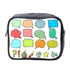 Set Collection Balloon Image Mini Toiletries Bag (two Sides)