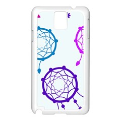 Dreamcatcher Dream Catcher Pattern Samsung Galaxy Note 3 N9005 Case (white)