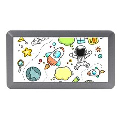 Sketch Cartoon Space Set Memory Card Reader (mini) by Pakrebo