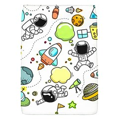 Sketch Cartoon Space Set Removable Flap Cover (s) by Pakrebo