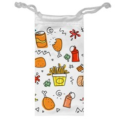 Cute Sketch Set Child Fun Funny Jewelry Bag by Pakrebo