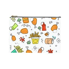 Cute Sketch Set Child Fun Funny Cosmetic Bag (large) by Pakrebo