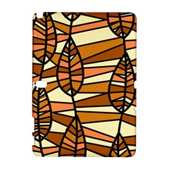 Autumn Leaf Mosaic Seamless Samsung Galaxy Note 10 1 (p600) Hardshell Case