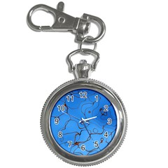 Pattern Background Abstract Key Chain Watches