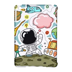 Sketch Cute Child Funny Apple Ipad Mini Hardshell Case (compatible With Smart Cover)