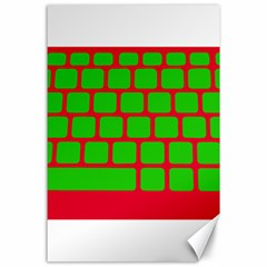 Keyboard Keys Computer Input Pc Canvas 24  X 36