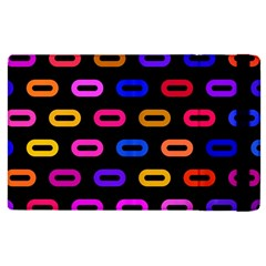 Pattern Background Structure Black Apple Ipad Pro 12 9   Flip Case
