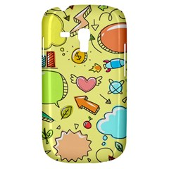 Cute Sketch Child Graphic Funny Samsung Galaxy S3 Mini I8190 Hardshell Case