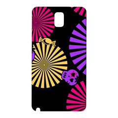 Seamless Halloween Day Of The Dead Samsung Galaxy Note 3 N9005 Hardshell Back Case