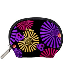 Seamless Halloween Day Of The Dead Accessory Pouch (small) by Pakrebo