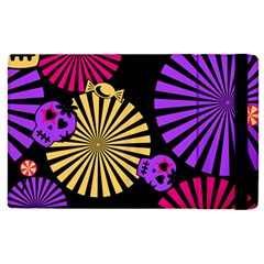 Seamless Halloween Day Of The Dead Ipad Mini 4 by Pakrebo