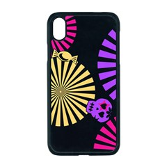 Seamless Halloween Day Of The Dead Apple Iphone Xr Seamless Case (black)