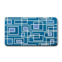 Geometric Rectangle Shape Linear Medium Bar Mats