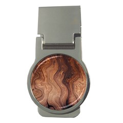 Pattern Background Structure Money Clips (round)