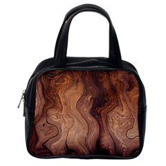 Pattern Background Structure Classic Handbag (one Side)