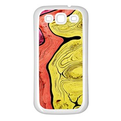 Pattern Background Abstract Samsung Galaxy S3 Back Case (white)