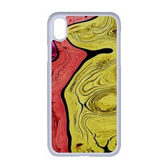 Pattern Background Abstract Apple Iphone Xr Seamless Case (white)