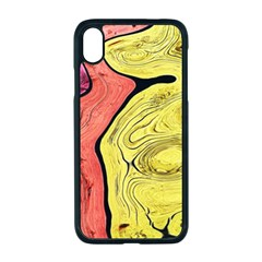 Pattern Background Abstract Apple Iphone Xr Seamless Case (black)
