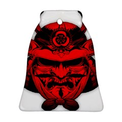 Oni Warrior Samurai Graphics Bell Ornament (two Sides)