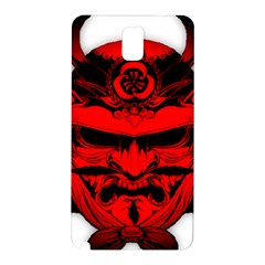 Oni Warrior Samurai Graphics Samsung Galaxy Note 3 N9005 Hardshell Back Case