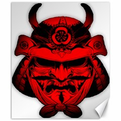 Oni Warrior Samurai Graphics Canvas 8  X 10