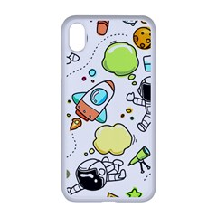 Sketch Cartoon Space Apple Iphone Xr Seamless Case (white)