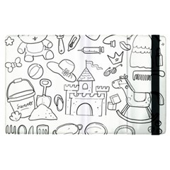 Baby Hand Sketch Drawn Toy Doodle Ipad Mini 4 by Pakrebo