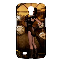 Wonderful Steampunk Lady Samsung Galaxy Mega 6 3  I9200 Hardshell Case
