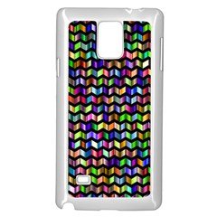 Ornamental Pattern Samsung Galaxy Note 4 Case (white)