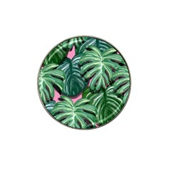 Painting Leaves Tropical Jungle Hat Clip Ball Marker (4 Pack)