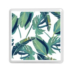 Plants Leaves Tropical Nature Memory Card Reader (square)