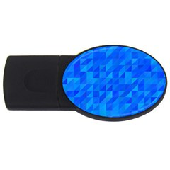 Pattern Halftone Geometric Usb Flash Drive Oval (4 Gb) by Alisyart